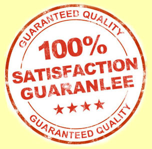 100% Satisfaction GuaranLee!