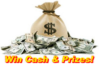 Win Cash & Prizes!