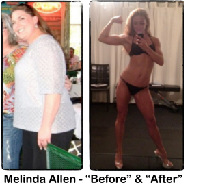 Melinda Allen's Weight Loss Transformation