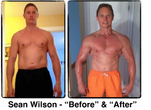 Sean Wilson Muscle Building Progress