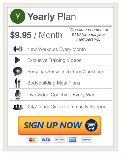 Sign Up For a 1 Year Membership